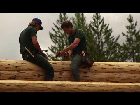Log Cabin Single Level 3200 Sq. Ft., Custom Design with Basement