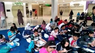 Try Out Test SD Kls 6 Oleh Erlangga di One Bell Park Mall 26 Mrt 2017