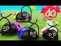 Baby-Preschool Learning Videos | Little Baby Girl Fun Play Ladybug Toy Set Kids Educational Toys