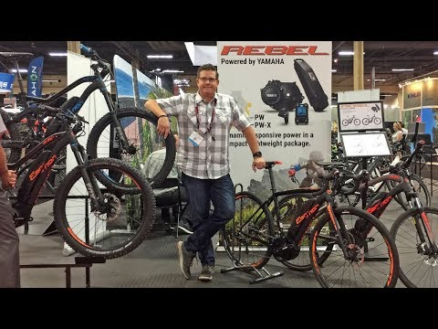 2018 Easy Motion Electric Bike Updates at Interbike (Rebel, Yamaha PWX, Brose S, ATOM X)
