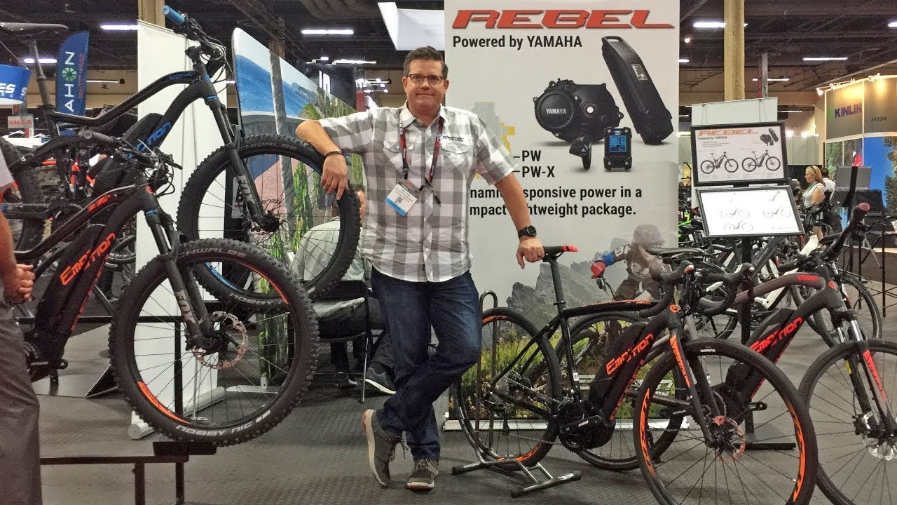 b88d8a62a8 2018 Easy Motion Electric Bike Updates at Interbike (Rebel