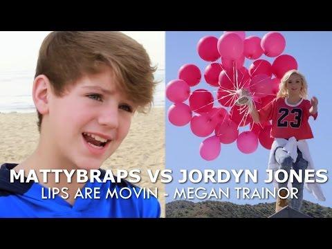 MattyBRaps vs Jordyn Jones - Lips are Movin by Meghan Trainor