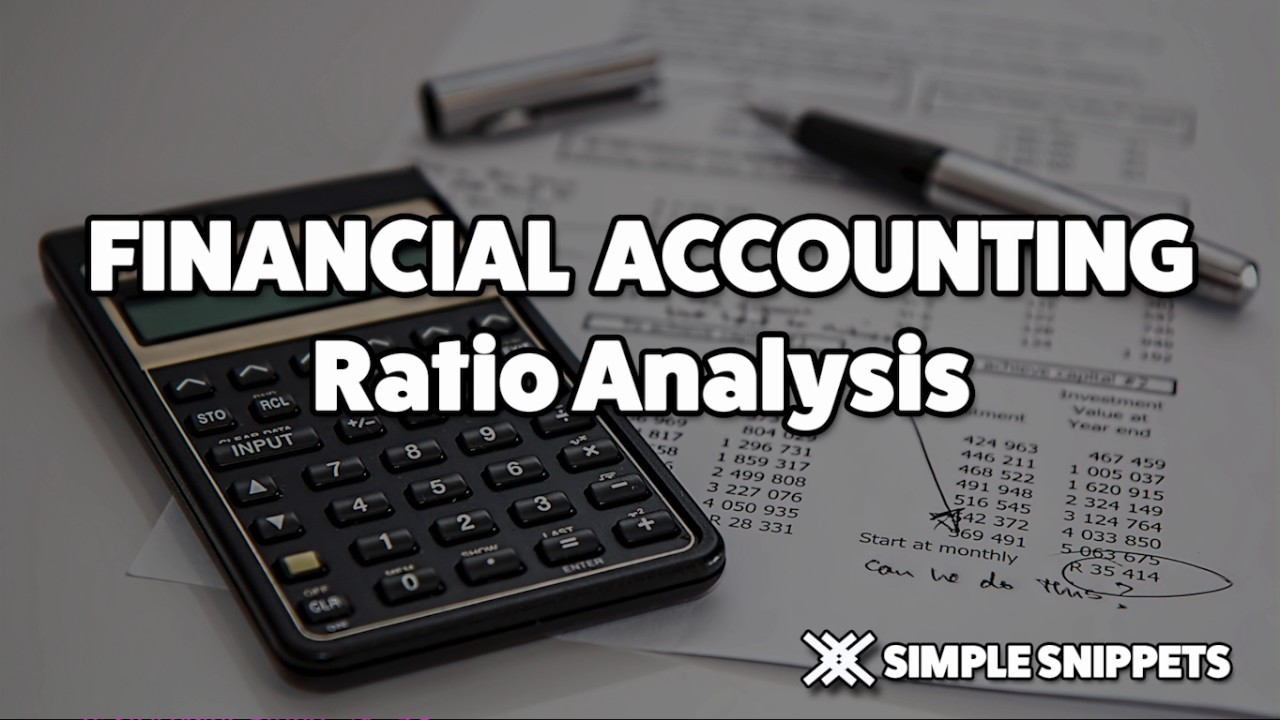 ratio analysis in financial accounting youtube
