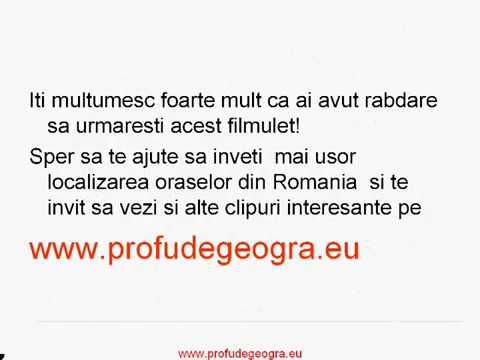 Orasele Din Romania Localizare Youtube