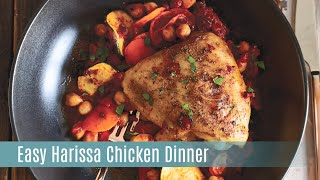 Harissa Chicken with the Rockcrok Grill Stone  Pampered Chef