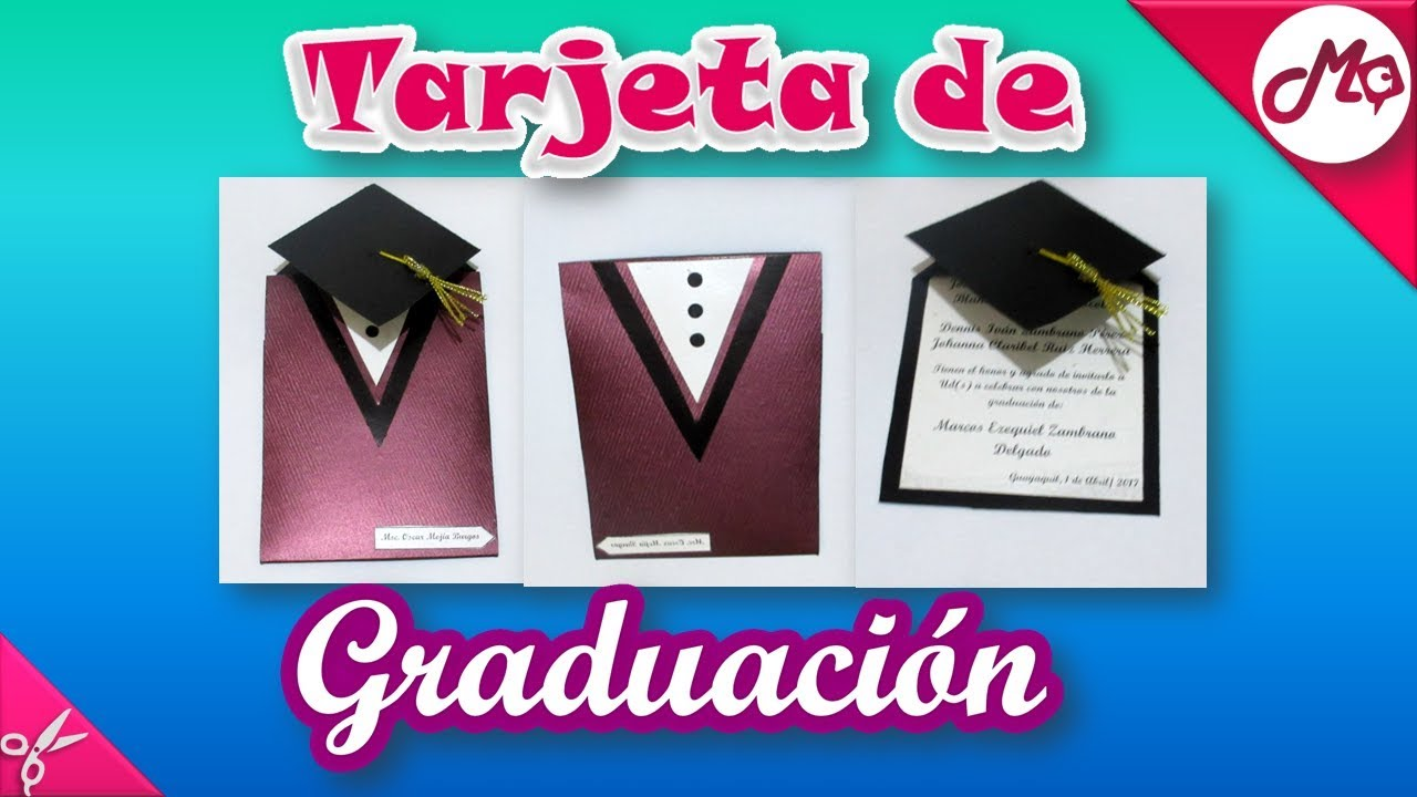 Tarjeta De Graduacion Con Sobre Markos En Craft