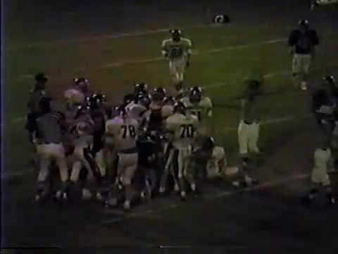 1986 Barnesville Academy Warriors at Fullington Academy Trojans football