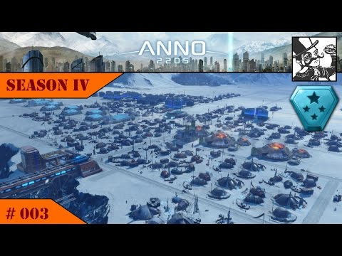 Anno 2205: S IV #003 Veteran Difficulty: Settling the Arctic Region!