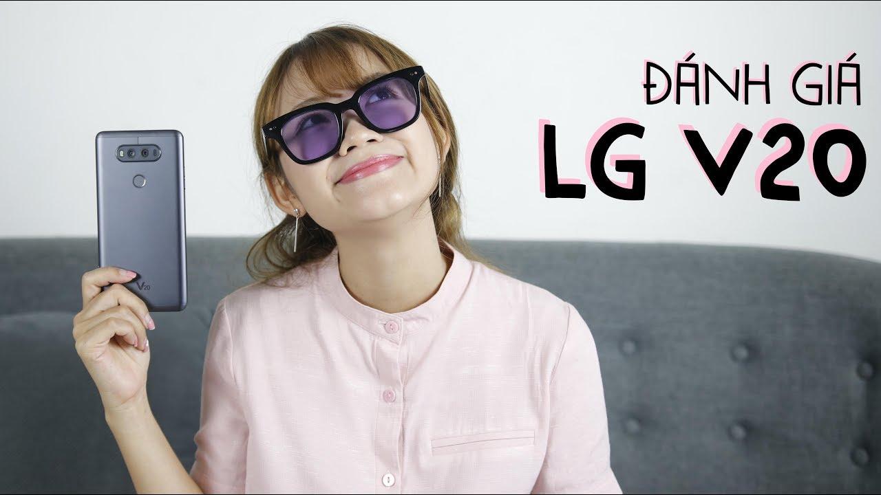 Đánh giá chi tiết LG V20