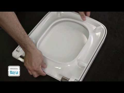 Step By Step Guide To Install Soft Close Toilet Seat - Roca