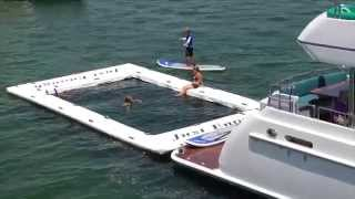 FreeStyle Cruiser Inflatable Water Slide for Yachts Video