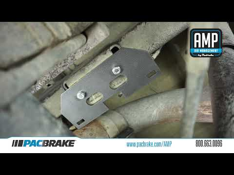 HP10002 / HP10089 AMP Air Spring Install by Pacbrake for Dodge Ram