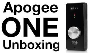 Apogee One Audio Interface Unboxing, Overview & Test