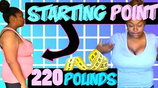 Starting point   220lbs Before video   Weight loss journey