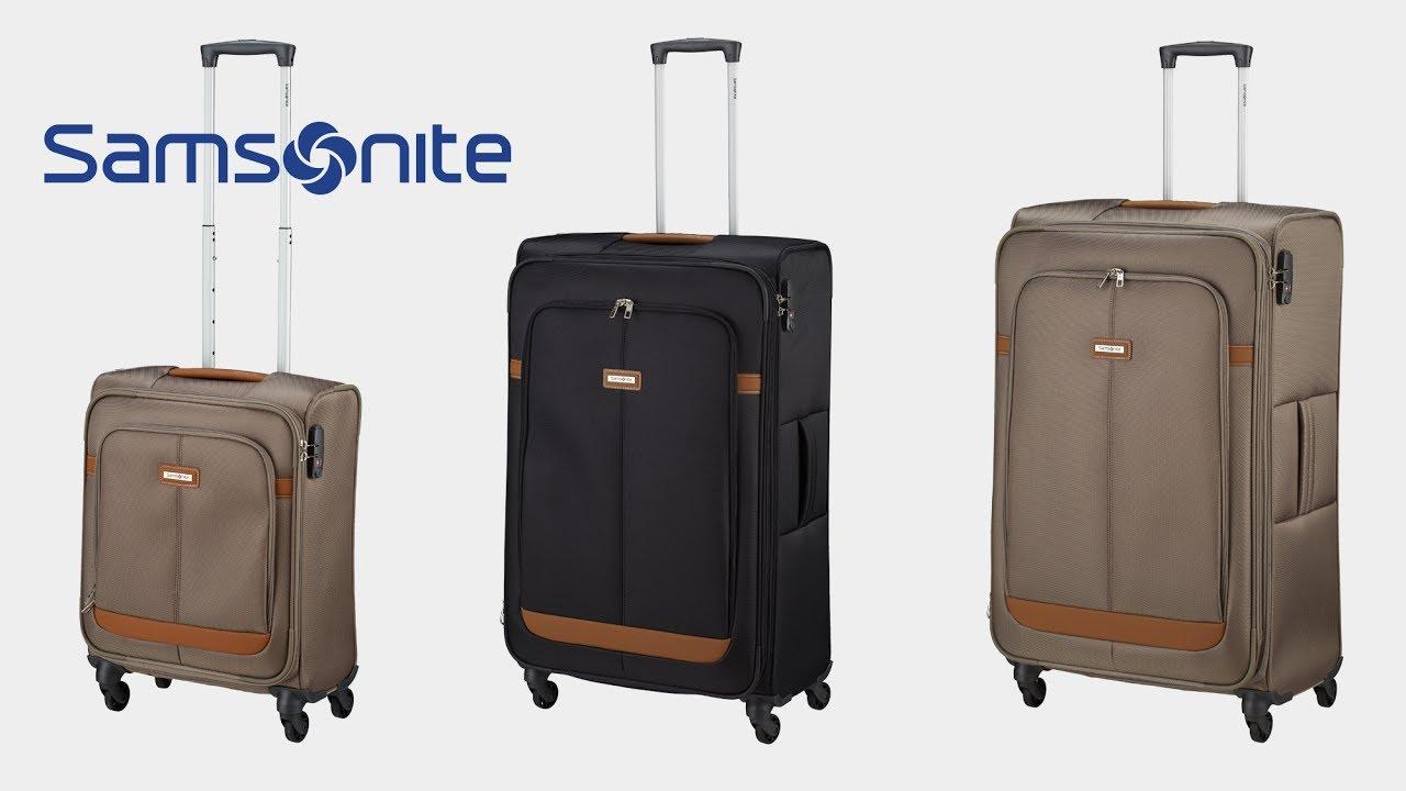 samsonite ncs caphir 4 rollen trolley koffer. Black Bedroom Furniture Sets. Home Design Ideas