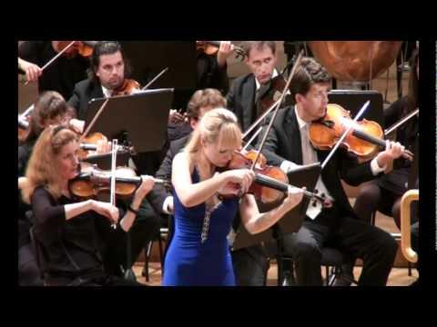 Ekaterina Frolova - J. Brahms Violin Concerto - Radio Symphony Orchestra Vienna 4/5