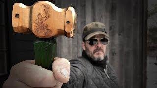 Forged & Engraved blacksmith rounding hammer for Jimmy Diresta