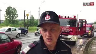 Accident in zona triaj - 13.06.2018