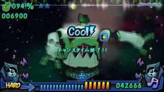 「Music GunGun! 2」 ローリンガール 【1P Hard Lv  18】
