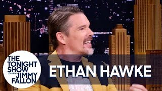 Ethan Hawke Got a Second Chance to Smoke a Willie Nelson Joint