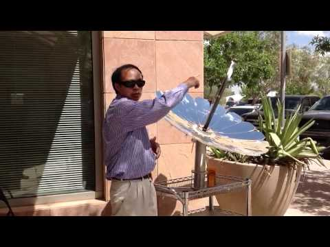 Solar desalination by distillation using the Monarch Lotus