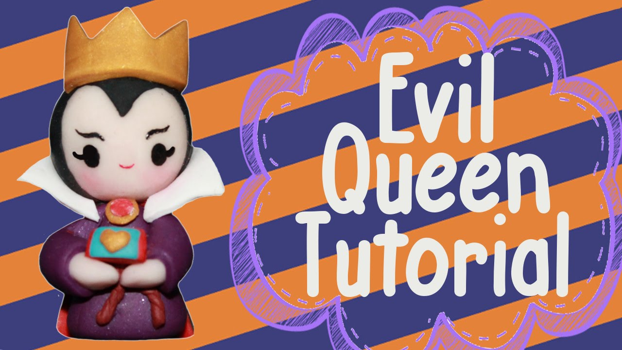 Evil queen chibi polymer clay tutorial youtube baditri Images