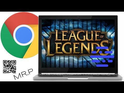 Leaque Of Legends On Chromebook (Streaming With Parsec)