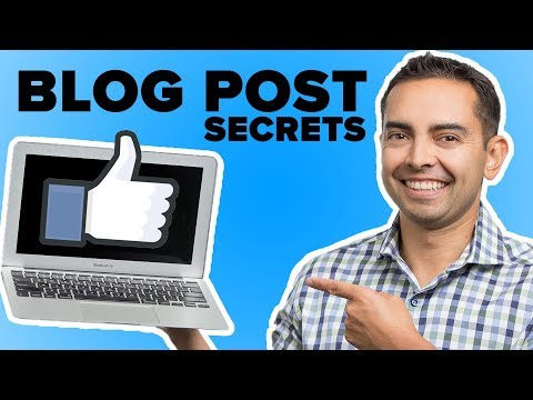 How to Write the Perfect Blog Post 👍