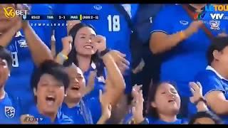Thailand vs Malaysia 2 2 Semifinal Leg 2 AFF Suzuki Cup 2018 (CC- Sempalgroup Channel)