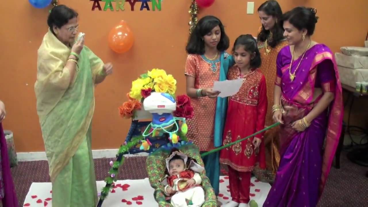 Aaryan barsa song by niku didi sonu didi youtube for Baby namkaran decoration