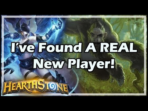 [Hearthstone] I've Found A REAL New Player!