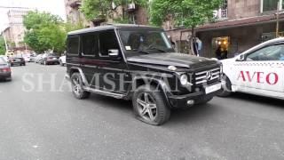 Ավտովթար Երևանում  «Հայրենիք» առևտրի կենտրոնի մոտ բախվել են «յաշիկ» ն ու Mitsubishi ն