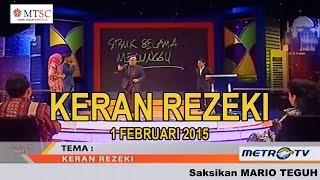 Video Mario Teguh - Keran Rezeki download MP3, 3GP, MP4, WEBM, AVI, FLV November 2017