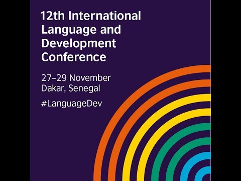 12th International Language and Development Conference - Opening Ceremony