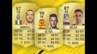 THE TOP 10 OVERRATED PLAYERS IN FIFA 17/ Magipie