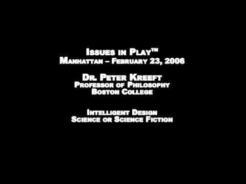 Dr Peter Kreeft: Intelligent Design