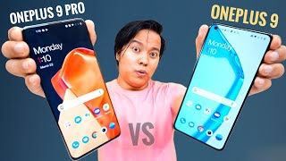 Oneplus 9 vs Oneplus 9 Pro Unboxing & Comparison !!!