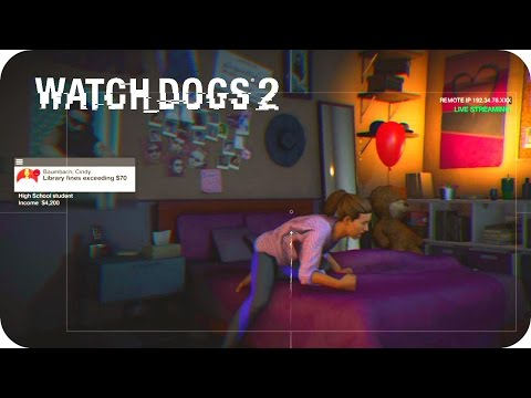 Watch Dogs 2 - Live Stream Privacy Invasion (FUNNY)