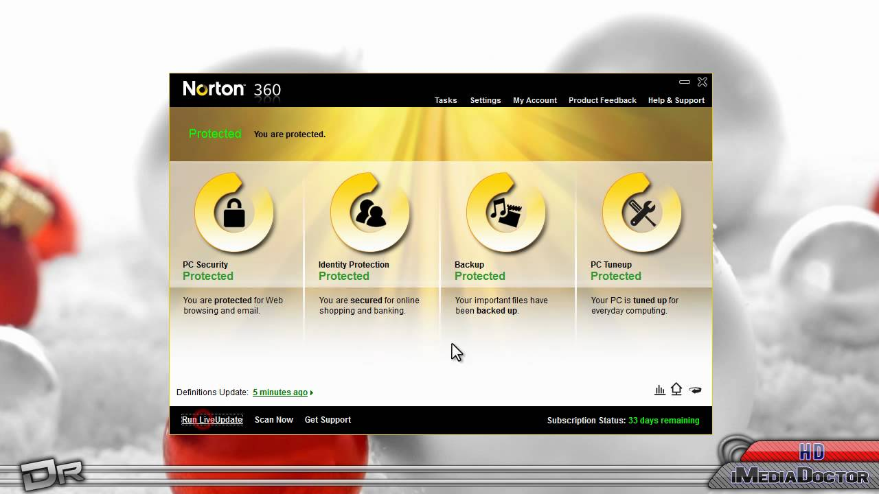 Symantec's Norton Version Gold Edition is able to detect and protect against viruses, Trojans, spyware, and numerous other threats by scrutinising files and applications in real-time. New downloads and programs are analysed before you run them on your hitmgd.tks: