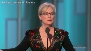 Meryl Streep slamsDonald Trumpfor mocking disabled journalist