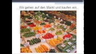 Germana pentru incepatori. Lectia 24. Auf dem Markt (Obst)