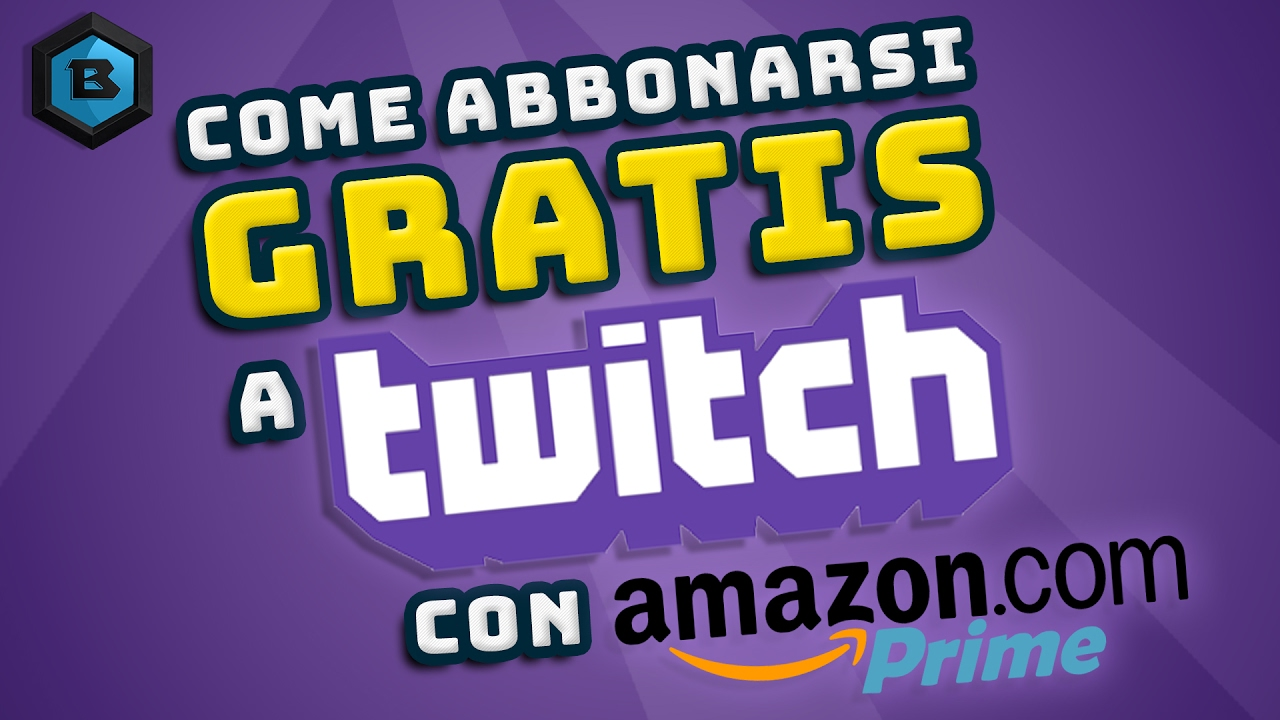 how to add amazon prime to twitch