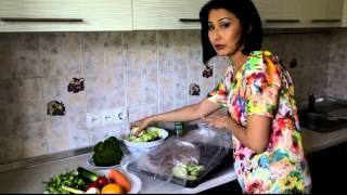 Мой рецепт для Бикини-плана: запеченная семга с овощами