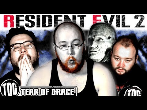 3 BOYS 1 X-MAN AND A LICKER (and the world's worst aim) | Resident Evil 2 Remake |