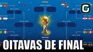 Brasil x México, França x Argentina | Oitavas da Copa - Gazeta Esportiva (28/06/18)