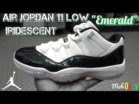 "Air Jordan 11 Low Iridecent "" Emerald "" 4k Ultra HD Review / New House / Selling Yeezy's"