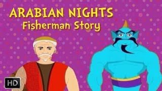 Arabian Nights - The Story of the Fisherman - English Animated Stories for Kids