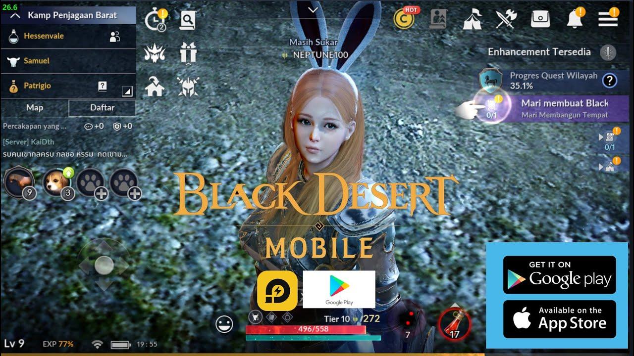 Rilis Playstore - Black Desert Mobile - YouTube