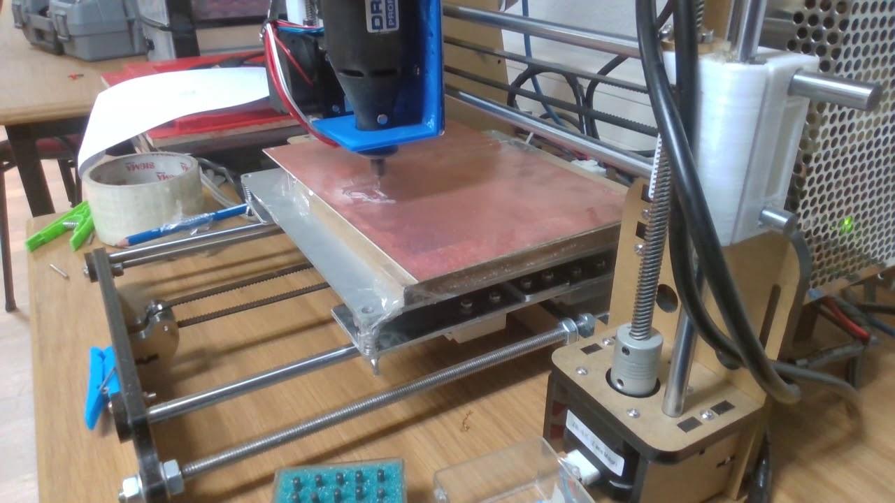 anet a8 pcb milling using dremel youtube rh youtube com