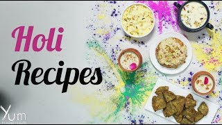 These Holi Recipes will help you enjoy the festival to the fullest. 😋